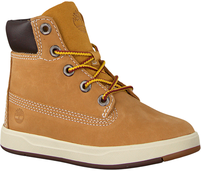 Camel TIMBERLAND Classic ankle boots DAVIS SQUARE 6 KIDS - large
