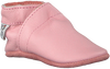 Pink BABY DUTCH Baby shoes BABYSLOFJE  - small