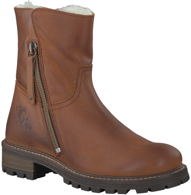 Cognac GIGA High boots 8071 - large