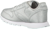 Silver REEBOK Sneakers CL LEATHER KIDS - small