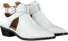 White BRONX Booties BTEX-CHUNKY - small