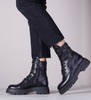 Black NOTRE-V Lace-up boots 01-310  - small