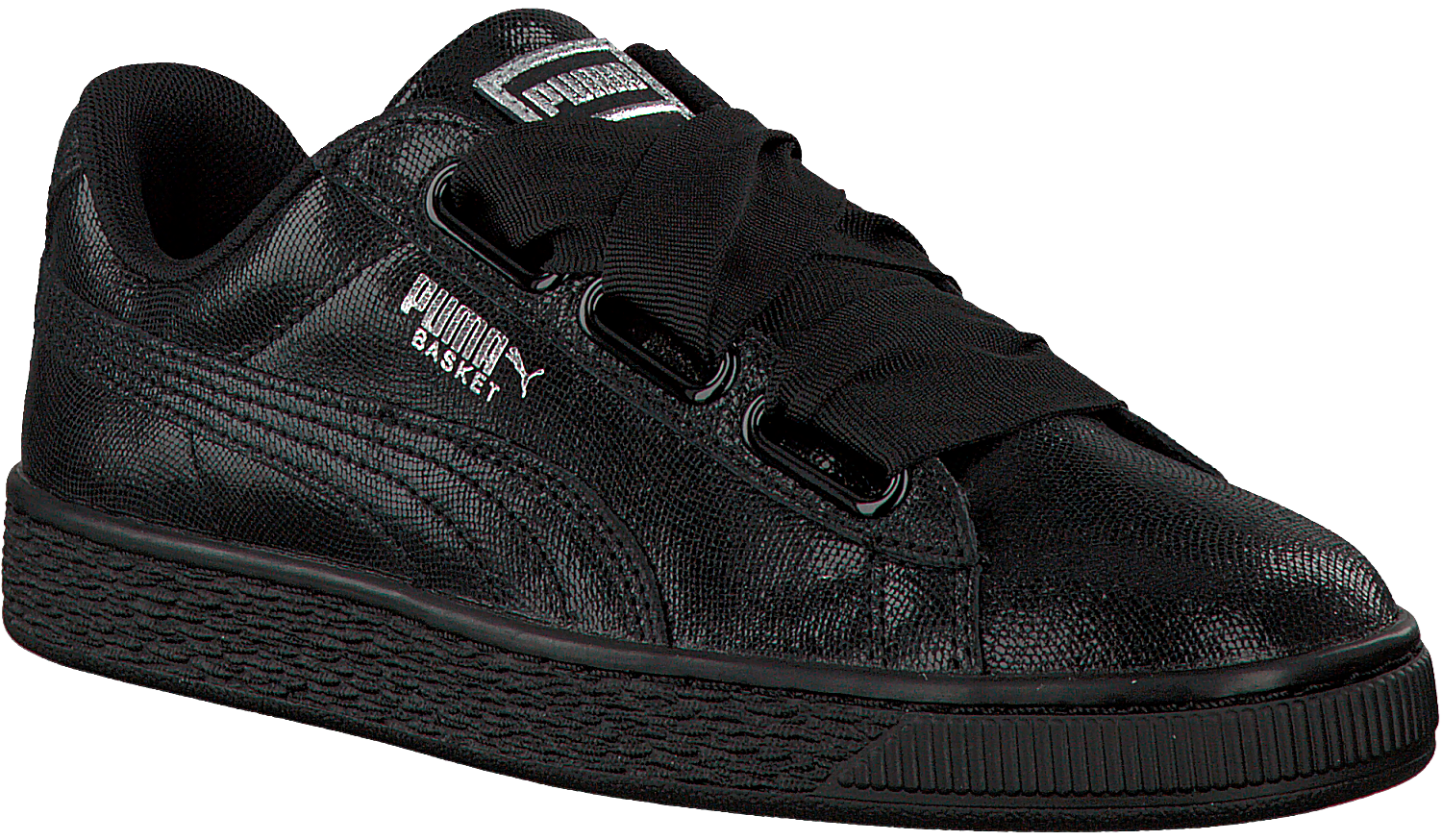 Black PUMA Sneakers BASKET HEART NS DAMES - Omoda.com