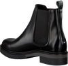 Black TOMMY HILFIGER Chelsea boots METALLIC LEATHER CHELSEA BOOT - small