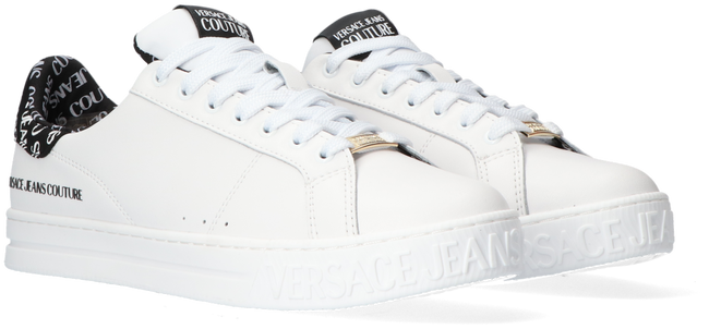 White VERSACE JEANS Low sneakers COURT 88 DIS 22  - large