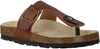 Cognac DEVELAB Sandals 48005 - small