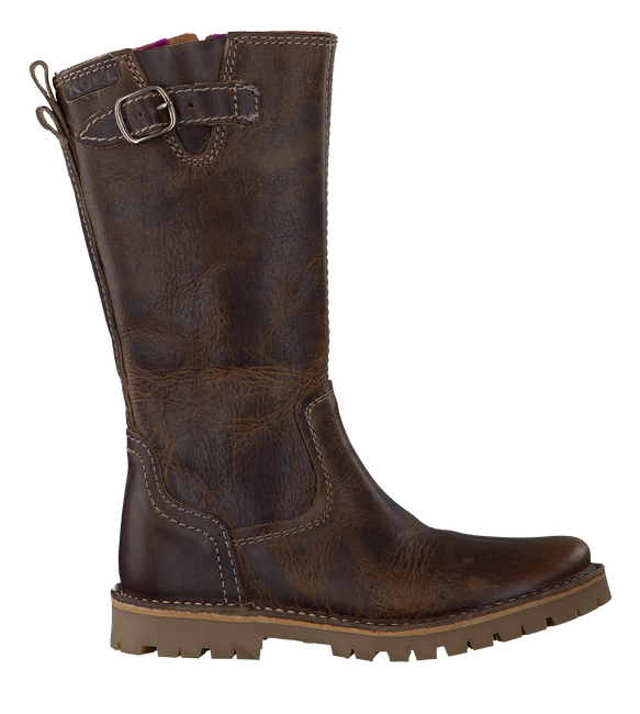 Brown KOEL4KIDS High boots GUUSJE - large