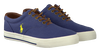 Blue POLO RALPH LAUREN Lace-ups VAUGHN - small