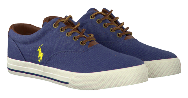 Blue POLO RALPH LAUREN Lace-ups VAUGHN - large