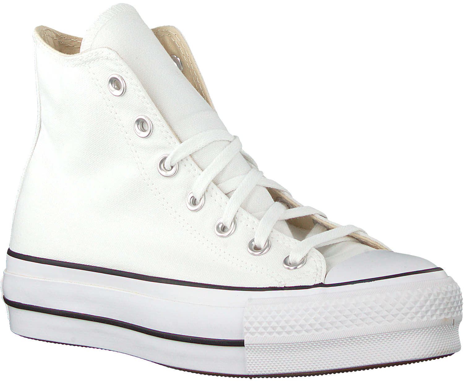 White CONVERSE High sneakers CHUCK TAYLOR ALLSTAR LIFT HIGH ...