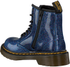 Blue DR MARTENS Lace-up boots 1460 GLITTER T/J - small