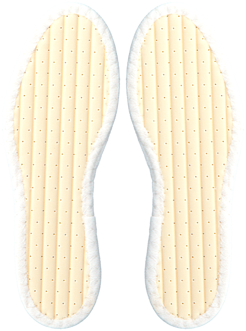 White PEDAG Insoles 31960100 - large