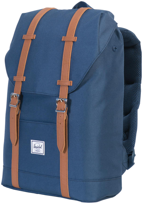 Blue HERSCHEL Backpack RETREAT MID-VOLUME - large