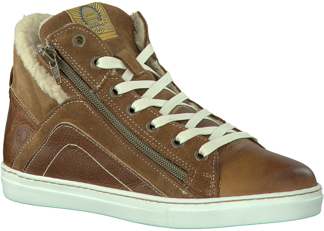 Brown BULLBOXER Sneakers AFTE5L501 - large