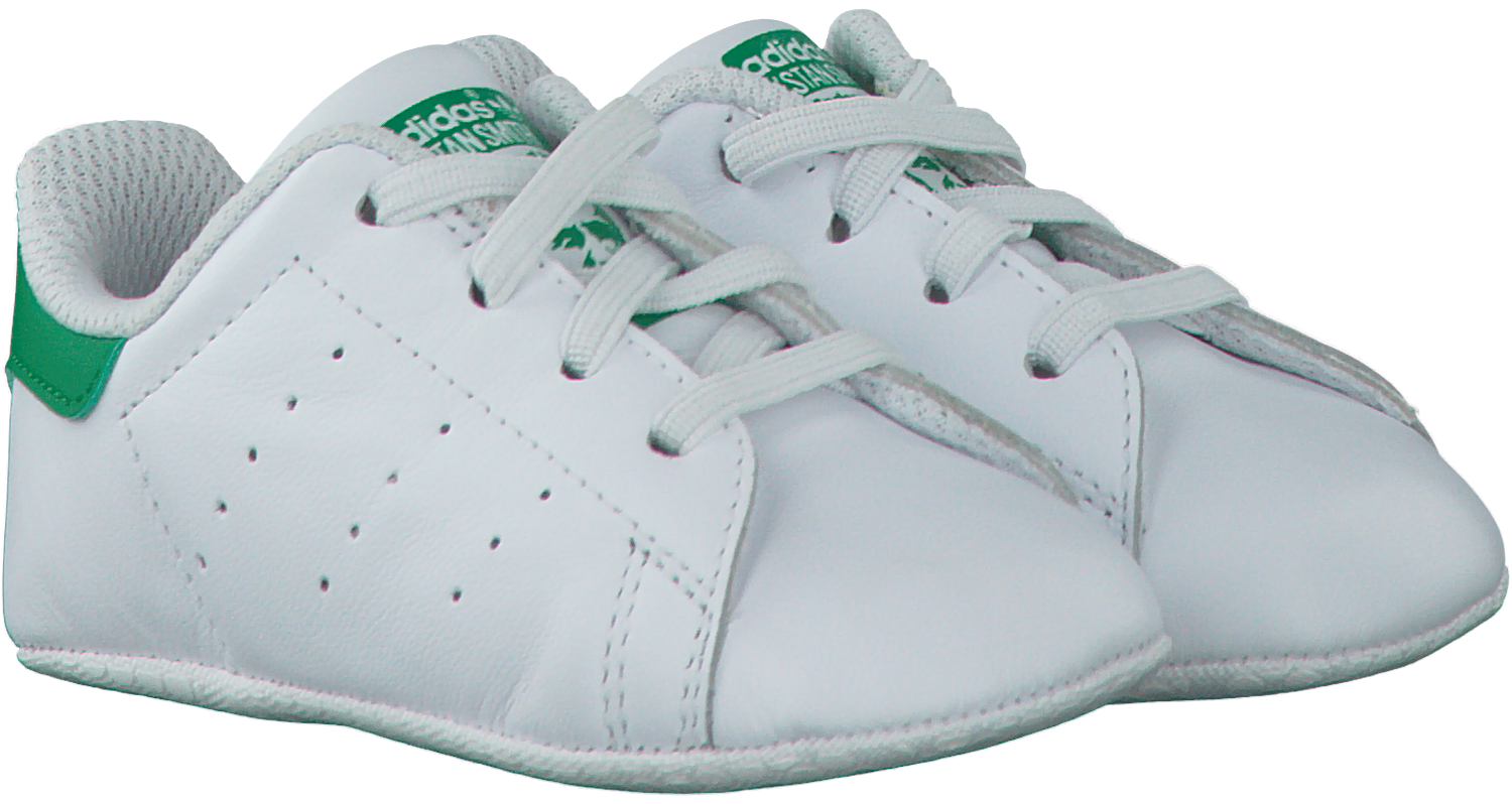 on sale 15b9c 06894 White ADIDAS Baby shoes STAN SMITH CRIB - Omoda
