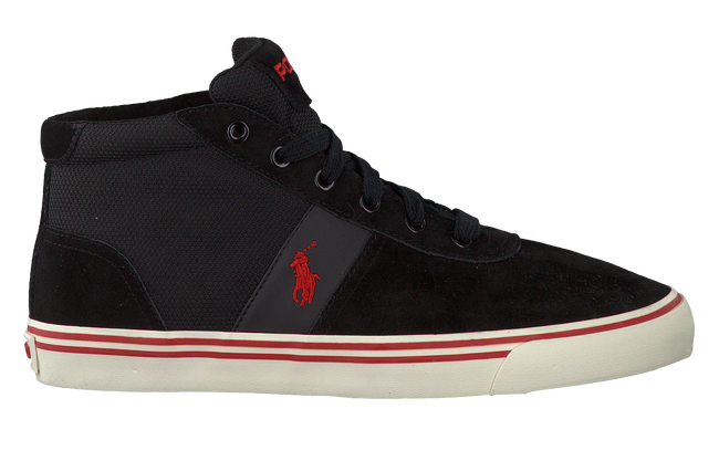 Black POLO RALPH LAUREN Sneakers HANFORD MID - large