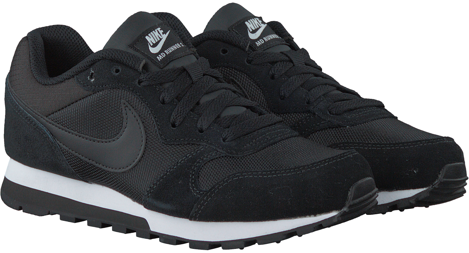 Black NIKE Sneakers MD RUNNER 2 WMNS - Omoda.com