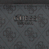 Grey GUESS Shoulder bag MIKA DOUBLE POUCH CROSSBODY  - small