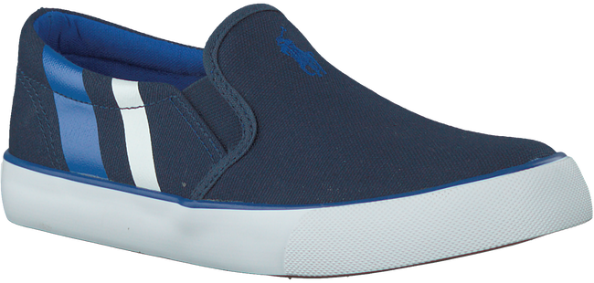 Blue POLO RALPH LAUREN Slip-on sneakers PAXON - large
