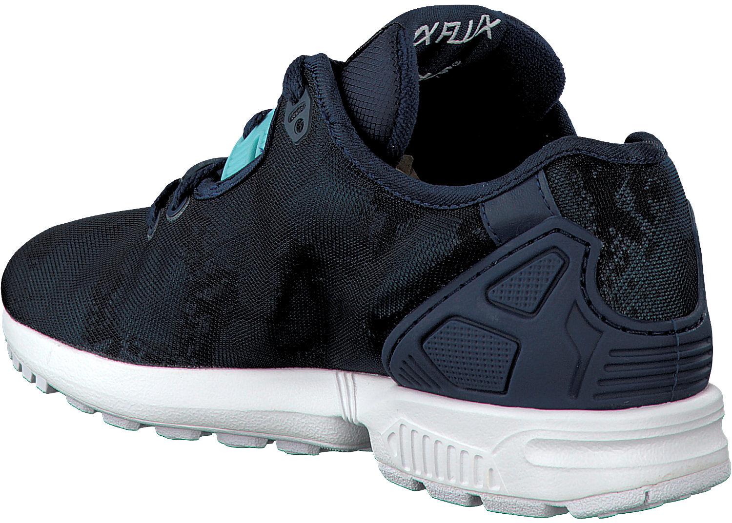 Blue ADIDAS Sneakers ZX FLUX DAMES - Omoda.com