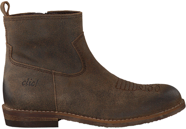 Brown CLIC! Booties 9277 - large