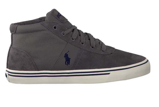 Grey POLO RALPH LAUREN Sneakers HANFORD MID - large