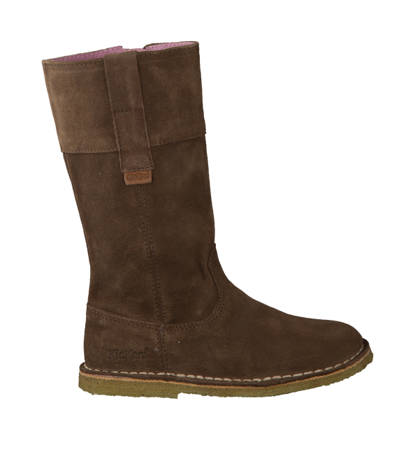 Brown KICKERS High boots COSYDOZ - large