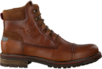Cognac NZA NEW ZEALAND AUCKLAND Lace-up boots HAWEA HIGH  - medium
