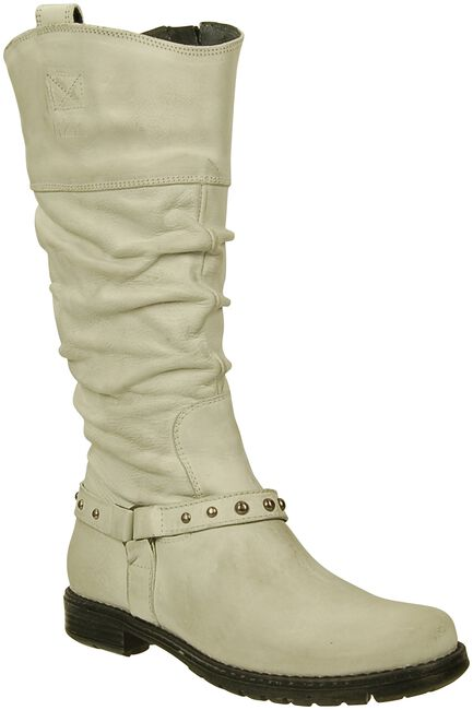 White REDZZ High boots LAURA - large