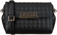 Black GUESS Handbag MATRIX CNVRTBLE XBODY BELT BAG  - medium