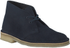 Blue CLARKS Ankle boots DESERT BOOT DAMES - small