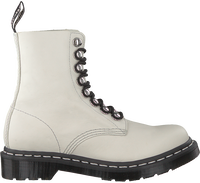 White DR MARTENS Lace-up boots 1460 PASCAL HDW  - medium