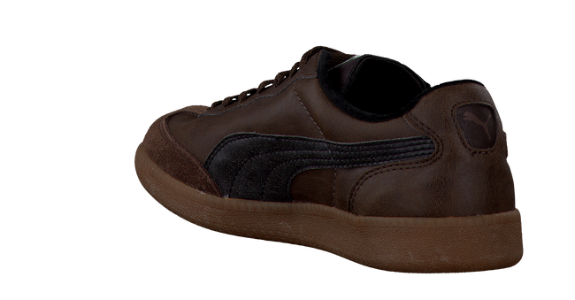 Brown PUMA Sneakers LIGA KIDS - large