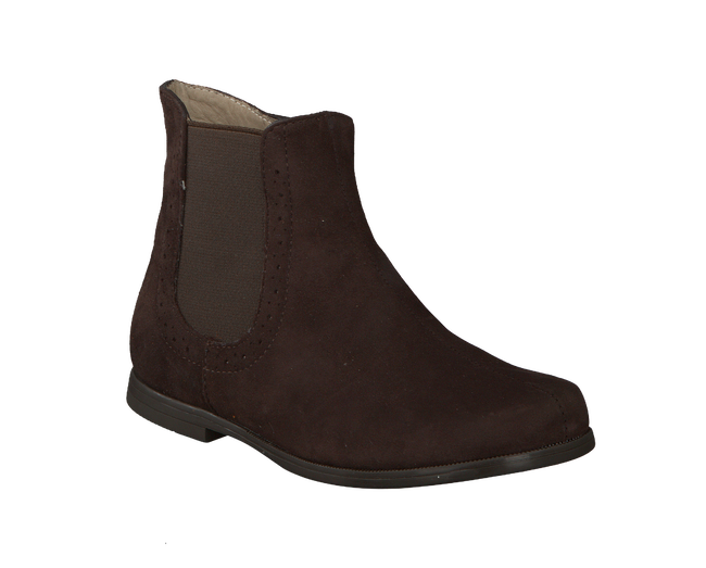 Brown UNISA High boots LERYN - large
