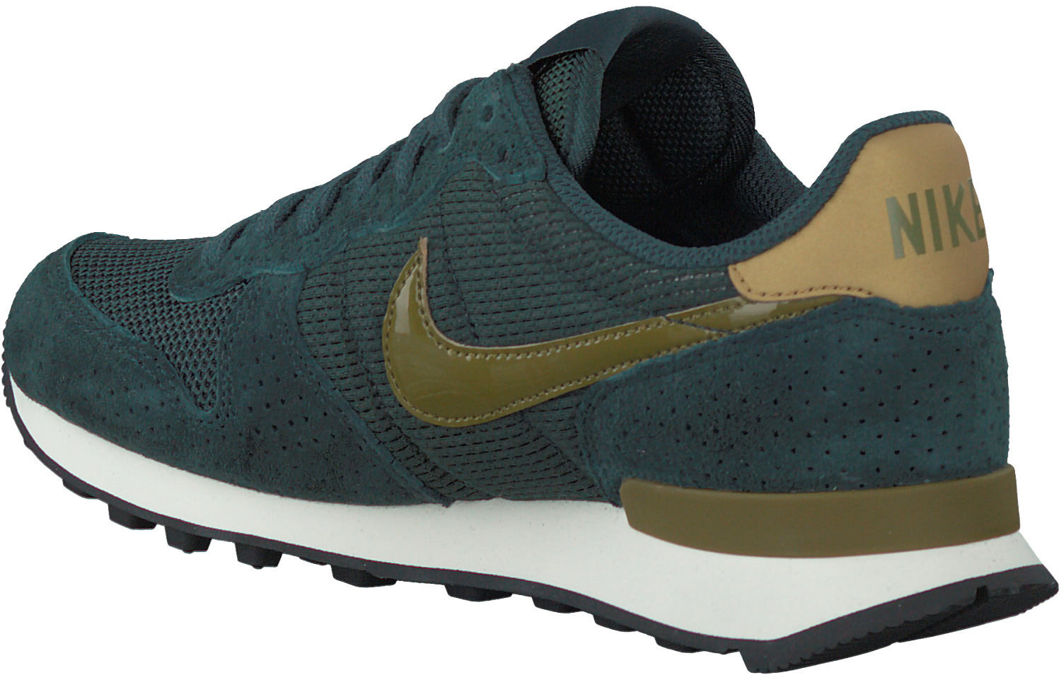 Green NIKE Sneakers INTERNATIONALIST WMNS - Omoda.com