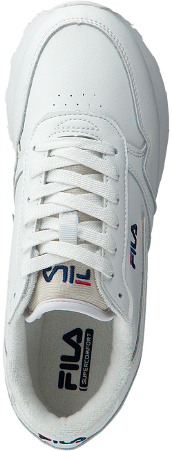 White FILA Sneakers ORBIT ZEPPA L WMN - large
