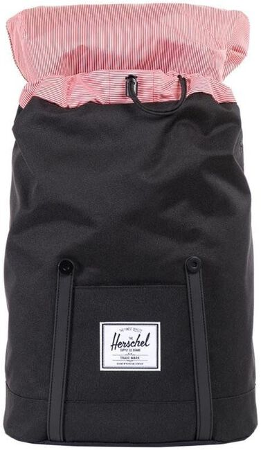 Black HERSCHEL Backpack RETREAT - large