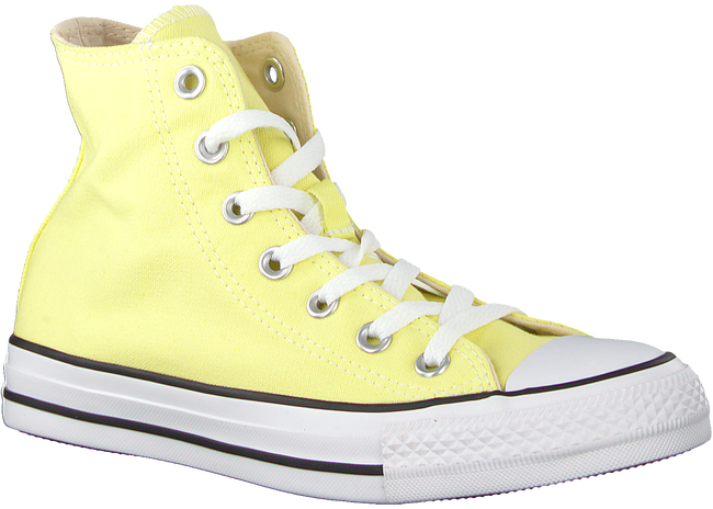 Yellow CONVERSE Sneakers CHUCK TAYLOR ALL STAR HI DAMES  - large