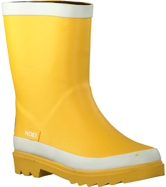 Yellow KOEL4KIDS Rain boots KO997  - large