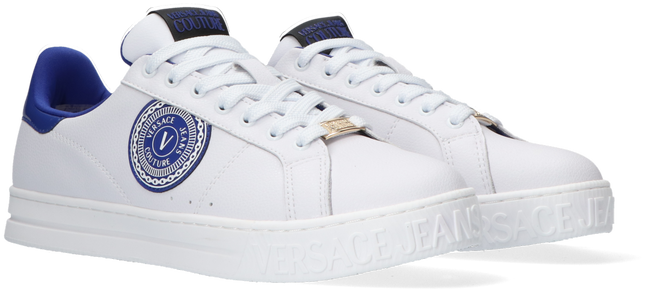 White VERSACE JEANS Low sneakers COURT 88 DIS 20  - large