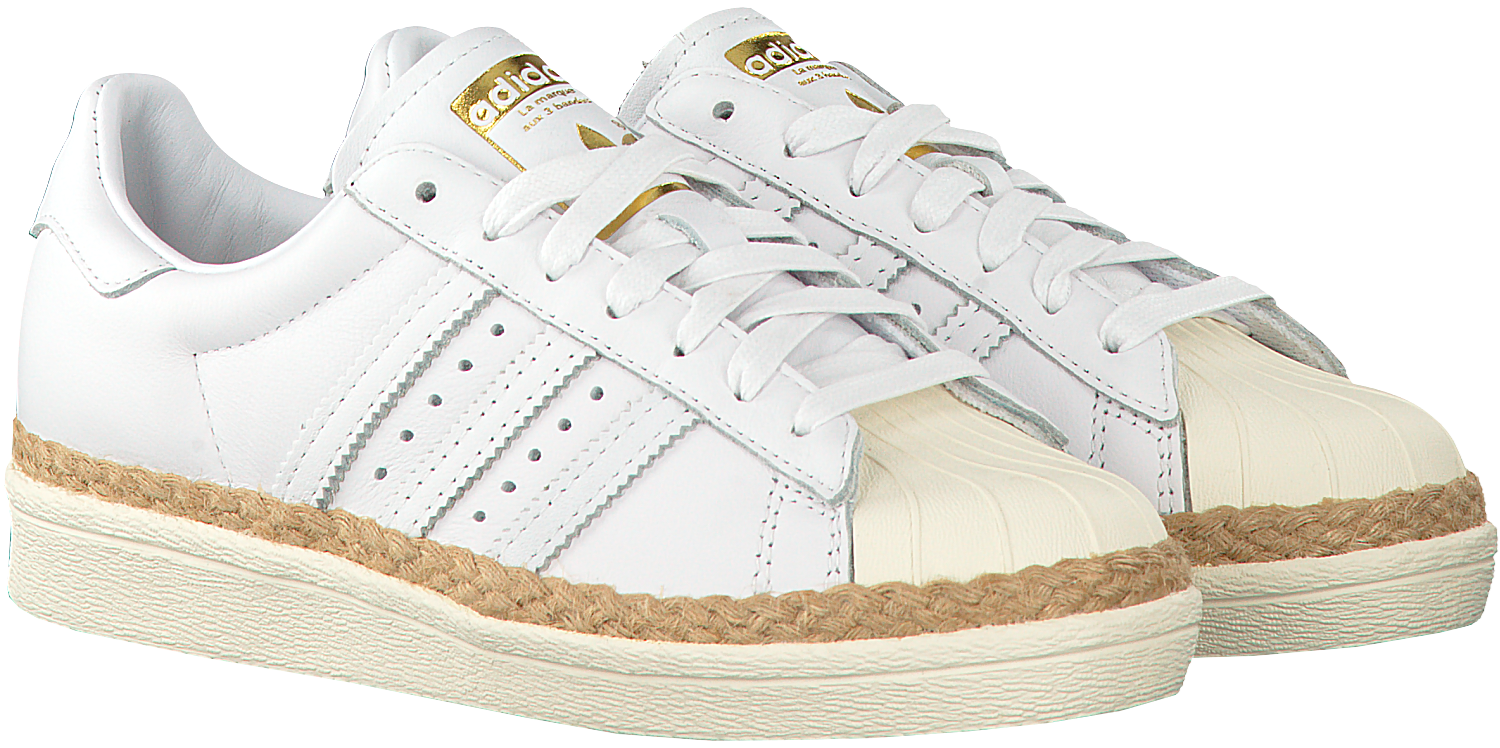 White ADIDAS Sneakers SUPERSTAR 80S DAMES - Omoda.com