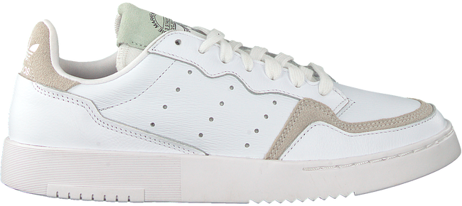 White ADIDAS Low sneakers SUPERCOURT W  - large
