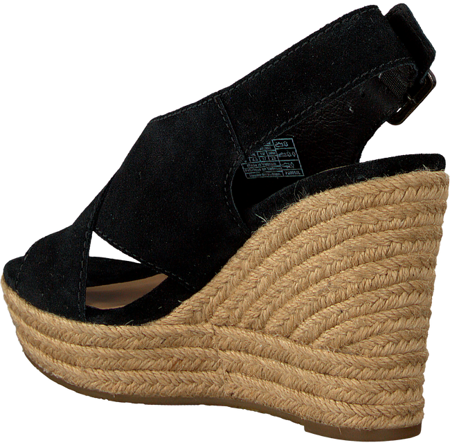 Black UGG Sandals HARLOW - large