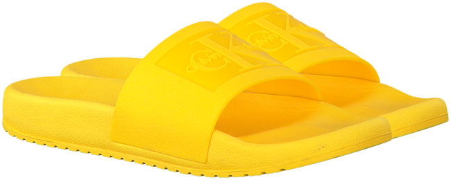 Yellow CALVIN KLEIN Flip flops CHRISTIE - large