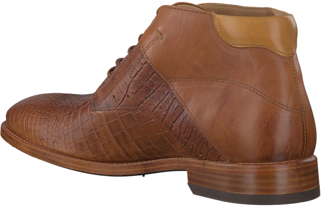 Cognac REHAB Business shoes ADRIANO - large
