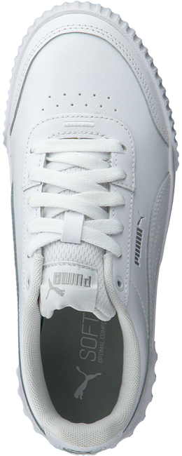 White PUMA Low sneakers CARINA LIFT TW  - large