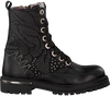 Black RED RAG Lace-up boots 15672 - small