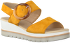 Yellow GABOR Sandals 645.1  - small