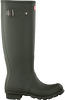 Green HUNTER Rain boots WOMENS ORIGINAL TALL - small