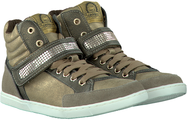 Gold BULLBOXER Sneakers AEBF5S570 - large